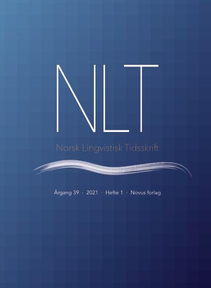 NLT 1-2021 Andrespråkstilegnelse