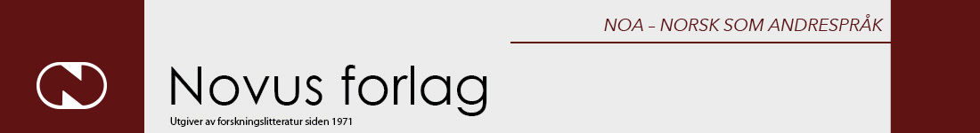 NOA - Norsk som andrespråk